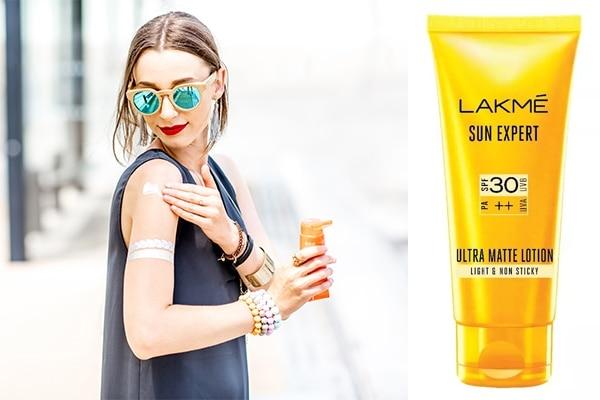 Use a sunscreen