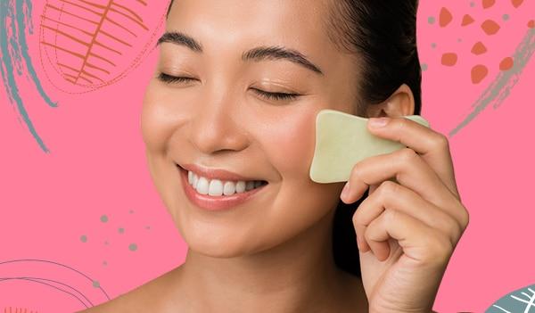 Gua Sha 101: The correct way to use a gua sha face tool