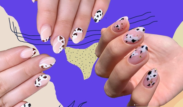 How to wear cow print nails – the latest nail trend doing the rounds
