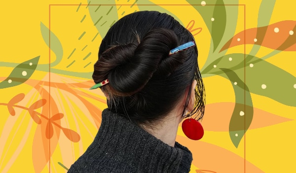 Infinity bun is a trendy upgrade to your basic bun