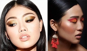Are you on-board these hot new eye makeup trends?