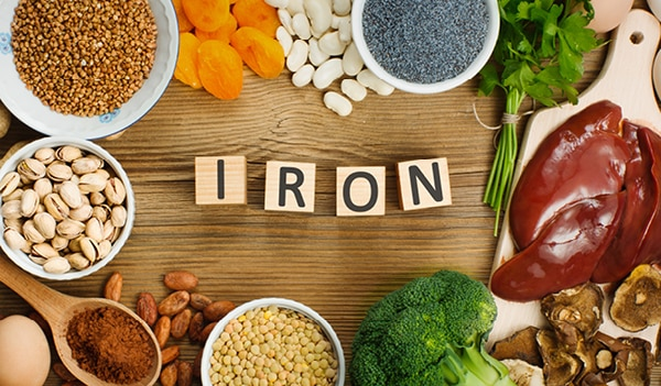 10 iron rich foods for healthy skin, hair and nails