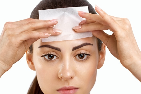 Blotting papers to your rescue