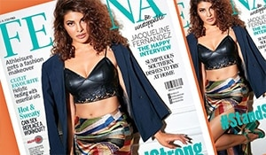 Look decode alert! Jacqueline Fernandez oozes oomph on the latest cover of Femina