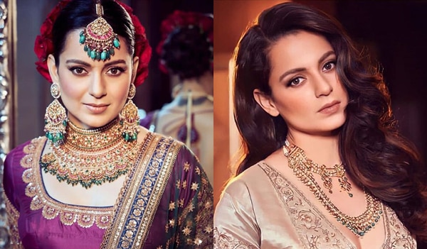 A roundup of Kangana Ranaut's stunning beauty looks from her brother's wedding festivities