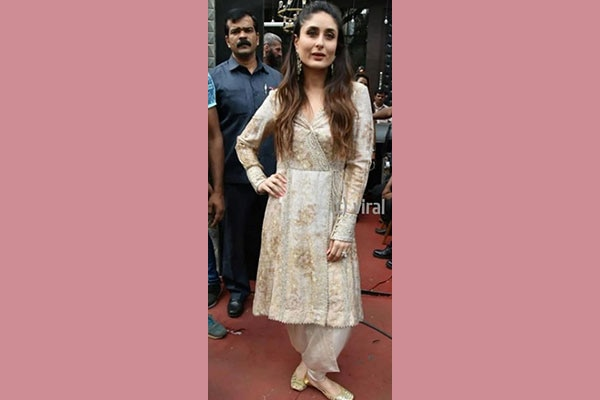 Kareena Kapoor Khan Indian look from Veere Di Wedding Promotions