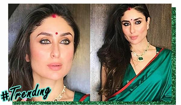 51a6fccfc8 Magnificent in Green: Get Kareena Kapoor Khan's Diwali look