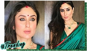 Magnificent in Green: Get Kareena Kapoor Khan's Diwali look