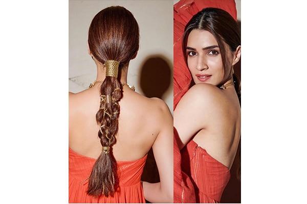Gold string braid