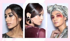 How to get all the beauty looks from Day 1 of Lakmé Fashion Week Winter/Festive 2018