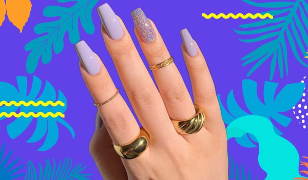 5 lovely lavender nail art ideas for your next manicure appointment