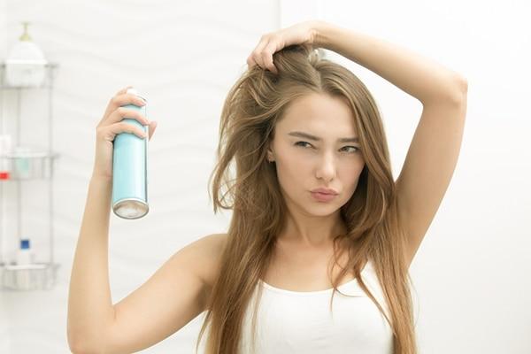 Keep your hair dirty