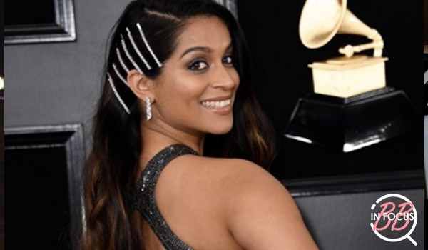 Lilly Singh wore the biggest hair accessories trend to Grammys and we love it!