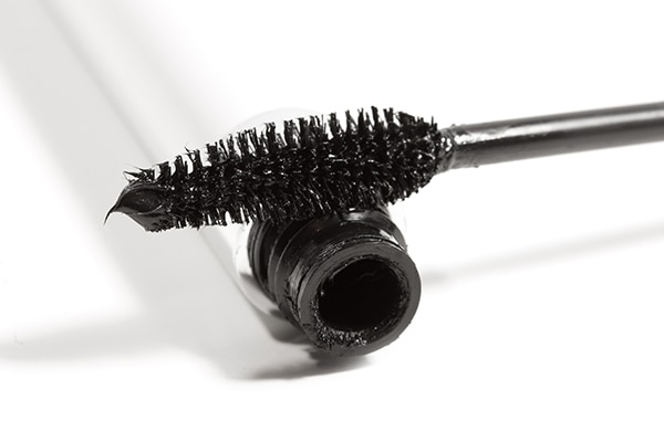 Avoid using a big, fluffy brush
