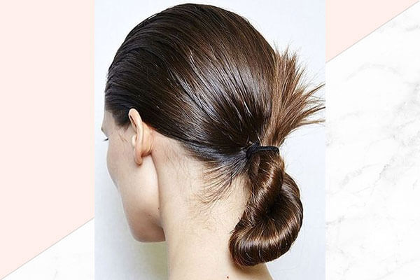 Low twisted bun