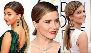 Low ponytails don't have to be boring, here's proof