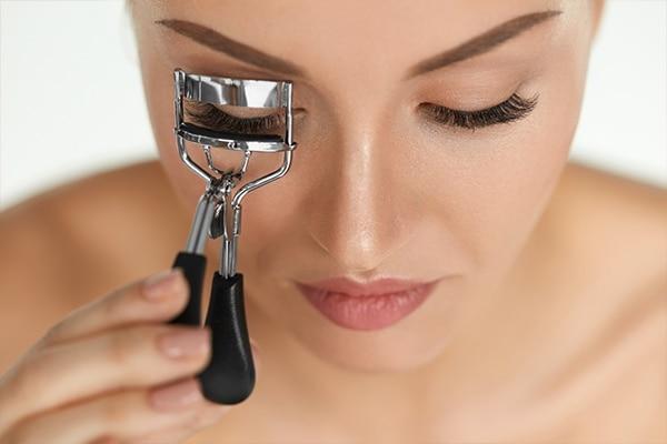 Never ditch an eyelash curler