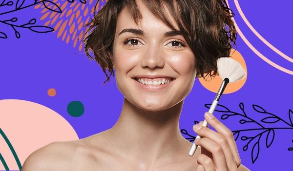 How to fake a natural glow using makeup