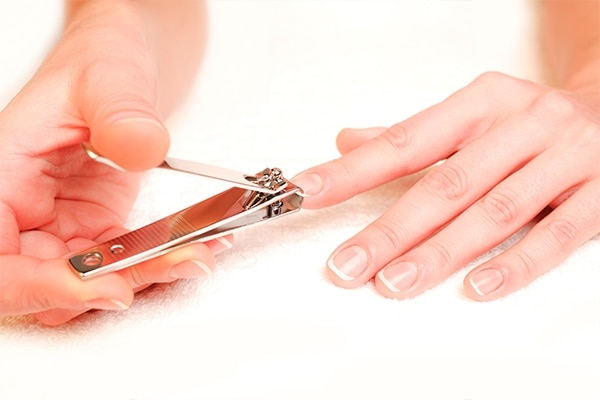 Avoid clipping your nails before you go for a manicure