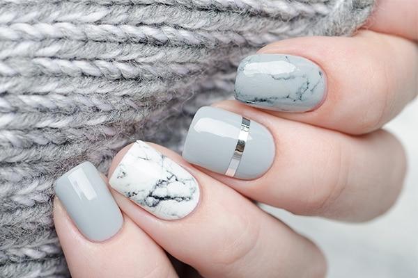 Avoid neon nail colours