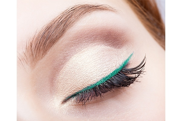 Give bright eyeliners a break