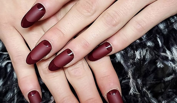 NYFW Fall 2021: 3 upgrades to the classic Frech manicure fresh off the ramp