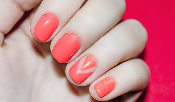 Nail art ideas to make your short nails appear longer