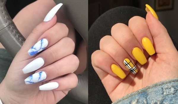 Nail Art Ideas For Coffin Nails