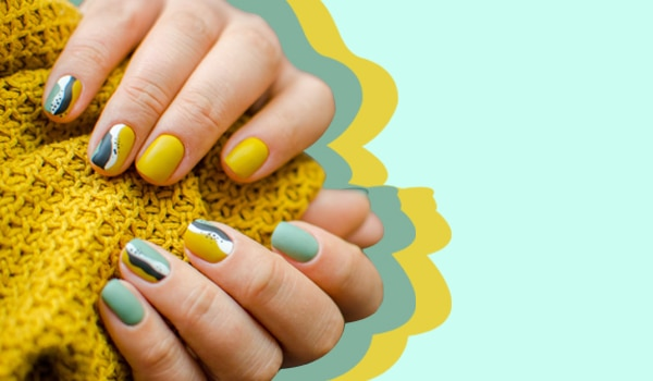 Don't know what to do with your short nails? Try these chic nail art ideas!