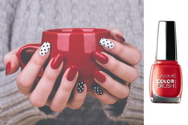 Cutesy polka dots