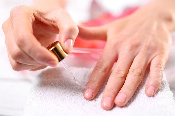 Hydrate your cuticles