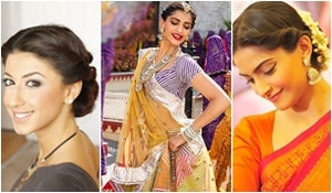 Navratri special: Carefree hairdo for dandiya Day 1