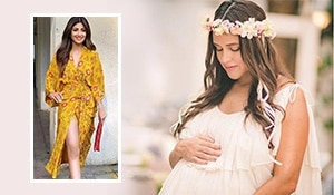 Some major brunch makeup inspo at Neha Dhupia's baby shower