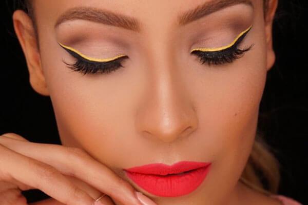 Trend alert 4: Neon eyeliner