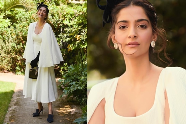 Flirty, fun whites on Sonam Kapoor Ahuja