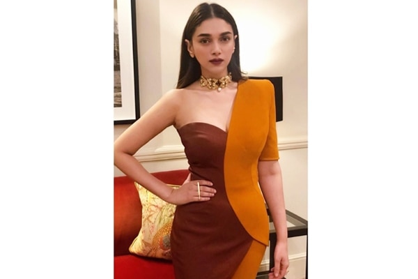 Copper-brown Earthy feels for Aditi Rao Hydari