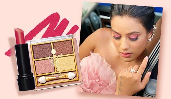 Get the look: TV actress Nia Sharma's monochrome makeup look