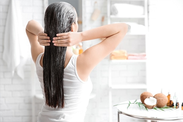 Pamper your hair with an overnight treatment