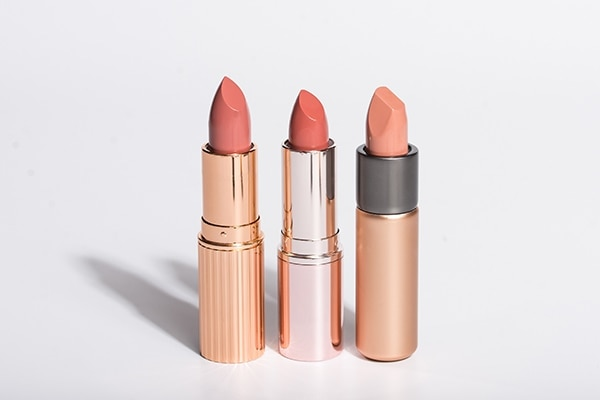 Shade of nude lipstick