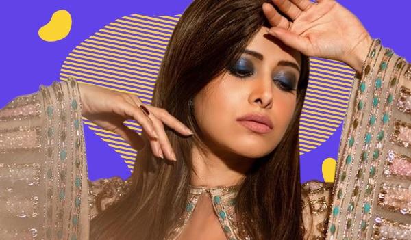 Get the look: Nushrratt Bharuccha's striking blue smokey eye look