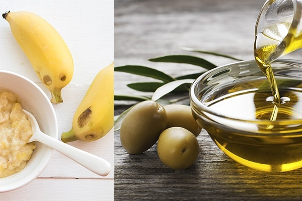 Olive oil + banana