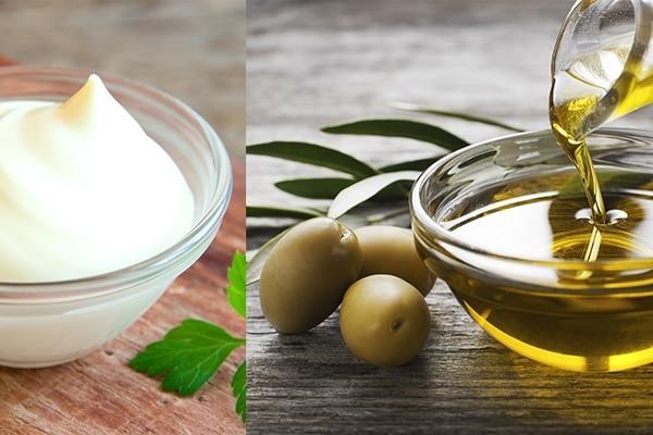 Olive oil + mayonnaise
