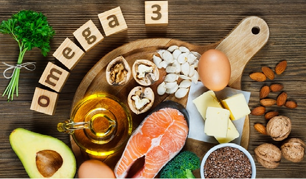 Omega-3 fatty acid rich foods for healthy skin, hair and body