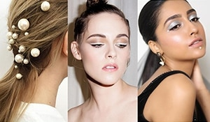 Pearl makeup and hair: the next new beauty trend