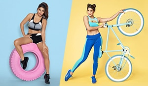 Jacqueline Fernandez just dropped her athleisure apparel line and we are kicked