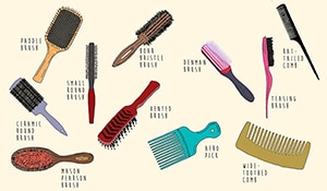 The Basic Types Of Comb and Hair Brush You Need