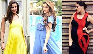 Chic maternity style courtesy Bollywood mommies-to-be