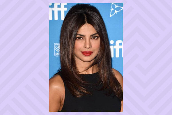 Priyanka Chopra's sleek + voluminous hairdo