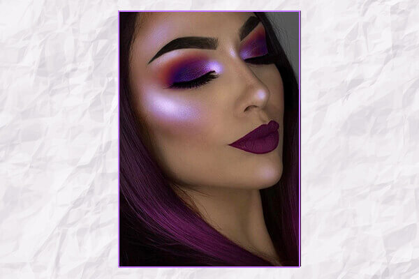 Purple Highlighter Trend