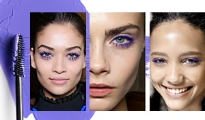 How to ace the Purple mascara look